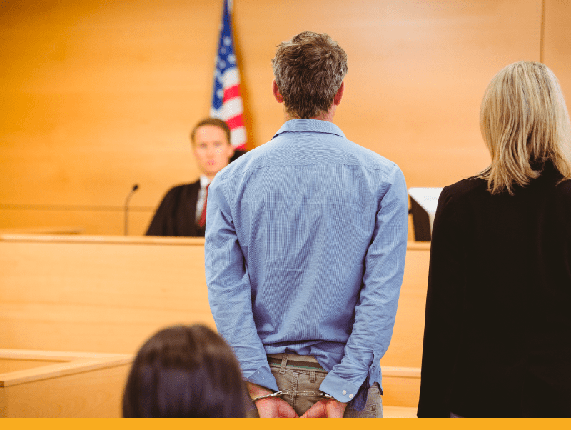 defendant-in-courtroom