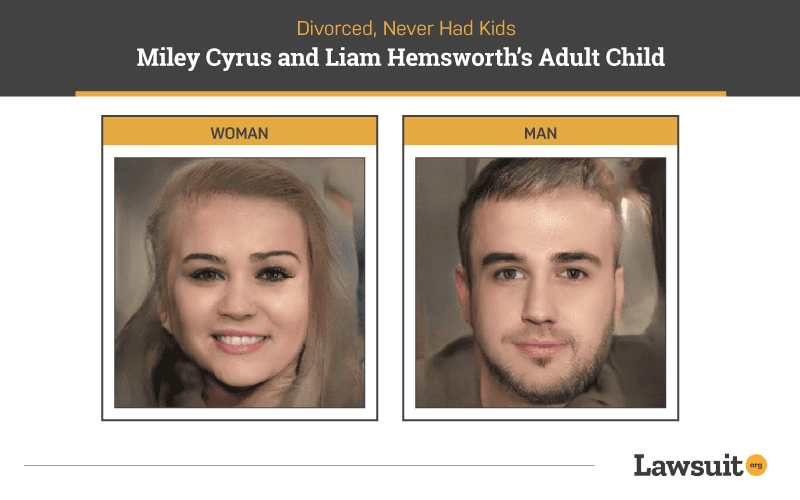 Miley Cyrus and Liam Hemsworth Child