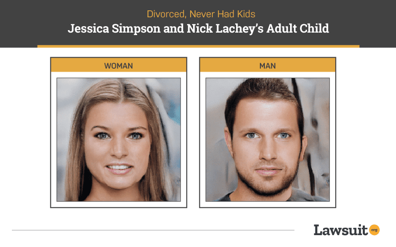 Jessica Simpson and Nick Lachey Child